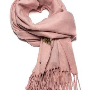 UGG cashmere blend scarf